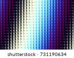 abstract digital geometrical... | Shutterstock . vector #731190634