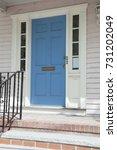 central door to the house.... | Shutterstock . vector #731202049