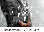 smart auto navigation concept.... | Shutterstock . vector #731210875