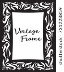 vintage frame. vector...   Shutterstock .eps vector #731223859