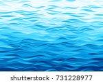 blue waves background. eps8.... | Shutterstock .eps vector #731228977