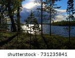 Landscape At Lake Inari In...