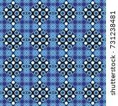 seamless geometric pattern ... | Shutterstock . vector #731238481