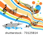 conceptual abstract background...   Shutterstock .eps vector #73125814