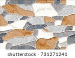 abstract home decorative wall... | Shutterstock . vector #731271241
