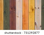 Colored Wooden Planks  Wooden...