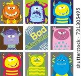 bad monster | Shutterstock .eps vector #731305495