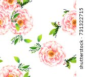 a seamless pattern with a... | Shutterstock . vector #731322715