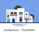 mediterranean moroccan or...   Shutterstock .eps vector #731333047