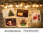 photo album in remembrance and... | Shutterstock . vector #731351251