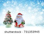 christmas new year holiday with ... | Shutterstock . vector #731353945