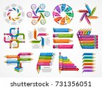 collection education... | Shutterstock .eps vector #731356051