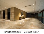 luxury lobby interior. | Shutterstock . vector #731357314