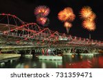 Beautiful Firework Over The...