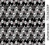 myanmar style ornamental...   Shutterstock .eps vector #731362069