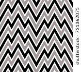 seamless zigzag pattern.... | Shutterstock .eps vector #731362075