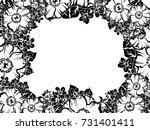 vintage delicate invitation... | Shutterstock .eps vector #731401411