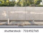 street wall background ... | Shutterstock . vector #731452765