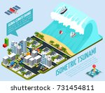 global warming isometric... | Shutterstock .eps vector #731454811