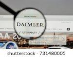 milan  italy   august 10  2017  ... | Shutterstock . vector #731480005