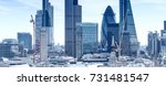 London City. Modern Skyline Of...