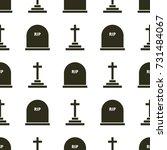 geometric seamless pattern of... | Shutterstock .eps vector #731484067