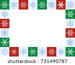 Snowflakes Christmas Frame ...