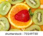 mixed fruit | Shutterstock . vector #73149730