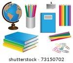 school belonging | Shutterstock .eps vector #73150702