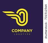 vector graphic elegant logotype ...   Shutterstock .eps vector #731512564