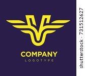 vector graphic elegant logotype ...   Shutterstock .eps vector #731512627