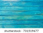 Blue Wood Planks Background...