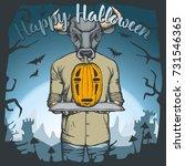 vector illustration of bull...   Shutterstock .eps vector #731546365