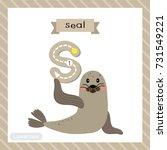 letter s lowercase cute... | Shutterstock .eps vector #731549221
