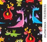 seamless pattern  backdrop...   Shutterstock .eps vector #731550151