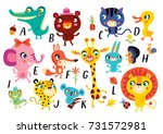 vector a k of the alphabet with ... | Shutterstock .eps vector #731572981
