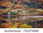 norway  fall | Shutterstock . vector #731574085