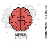 mental health concept day | Shutterstock .eps vector #731580727