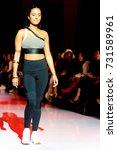 fashion models represent... | Shutterstock . vector #731589961