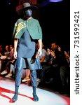 fashion models represent... | Shutterstock . vector #731592421