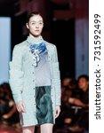 fashion models represent... | Shutterstock . vector #731592499