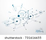 engineering technology vector... | Shutterstock .eps vector #731616655