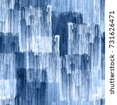 Abstract Patten Stripes Blue...