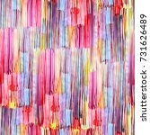 abstract watercolour stripes... | Shutterstock . vector #731626489