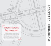 vector technical blueprint of...   Shutterstock .eps vector #731627179