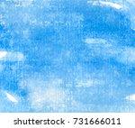 sky watercolor background | Shutterstock .eps vector #731666011