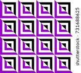 geometric seamless pattern.... | Shutterstock .eps vector #731688625