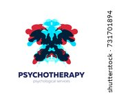psychotherapy and psychological ... | Shutterstock .eps vector #731701894