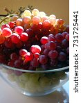 red and white grapes | Shutterstock . vector #731725441
