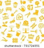 landscape design  seamless... | Shutterstock .eps vector #731726551